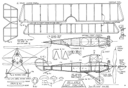 Bellanca Light Tractor model airplane plan