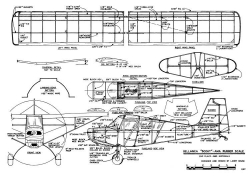 Bellanca Scout kruse model airplane plan