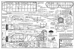 Bellanca Skyrocket model airplane plan
