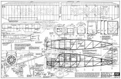Bellanca Skyrocket FSI-B9 model airplane plan