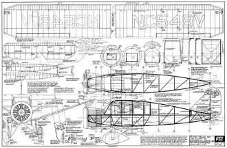 Bellanca CH-400 Skyrocket model airplane plan