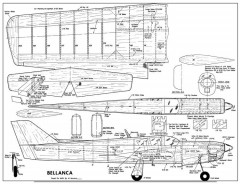 Bellanca Super Viking-MAN-10-69 model airplane plan