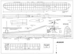 Belly Dancer model airplane plan