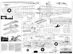 Berkeley B-25 model airplane plan
