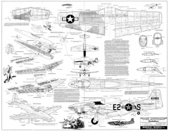 Berkeley P-51 model airplane plan