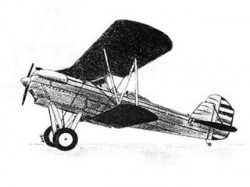 Berliner Joyce model airplane plan