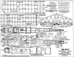 Bi-Fli model airplane plan