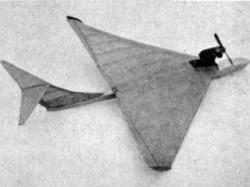 Big D model airplane plan