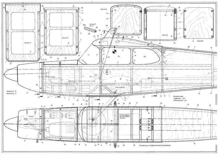 Big Lift model airplane plan