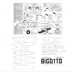 Big Otto model airplane plan