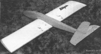 Bijou model airplane plan