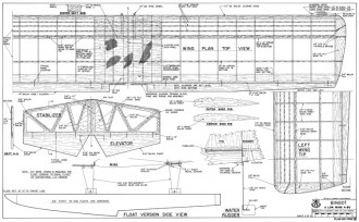 Bingo! model airplane plan