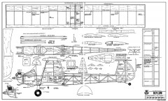 Biplum-RCM-983 model airplane plan