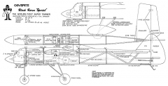 "Black Baron ""Special"" model airplane plan"