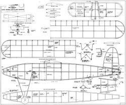 Black Diamond model airplane plan