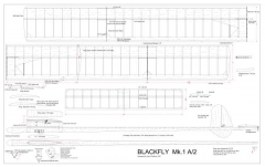Blackfly Mk1 model airplane plan
