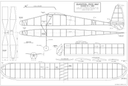 Blackpool Rock model airplane plan