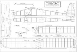 Blackpool Rock model airplane plan