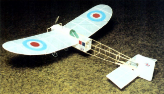 Bleriot Monoplane model airplane plan