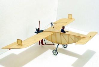 Bleriot Canard model airplane plan