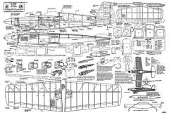 Blister model airplane plan