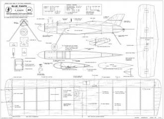 Blue Pants model airplane plan