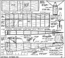 Blunderbus model airplane plan