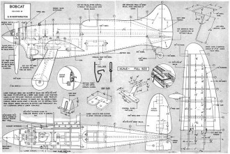 Bobcat 2 model airplane plan