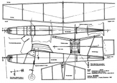 Bobik model airplane plan