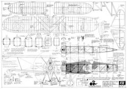 Boeing F4B-2 model airplane plan