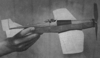 Boeing Monomail  model airplane plan