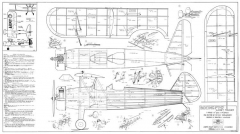 Boeing PT-17 Kaydet Trainer model airplane plan