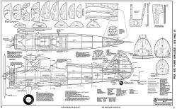 Boeing Stearman-RCM-01-70 416 model airplane plan