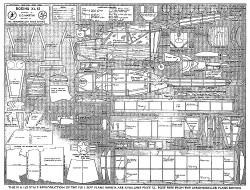 Boeing XL 15 model airplane plan