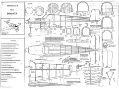 Bonanza model airplane plan