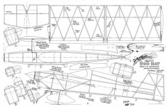 Boo Ray model airplane plan