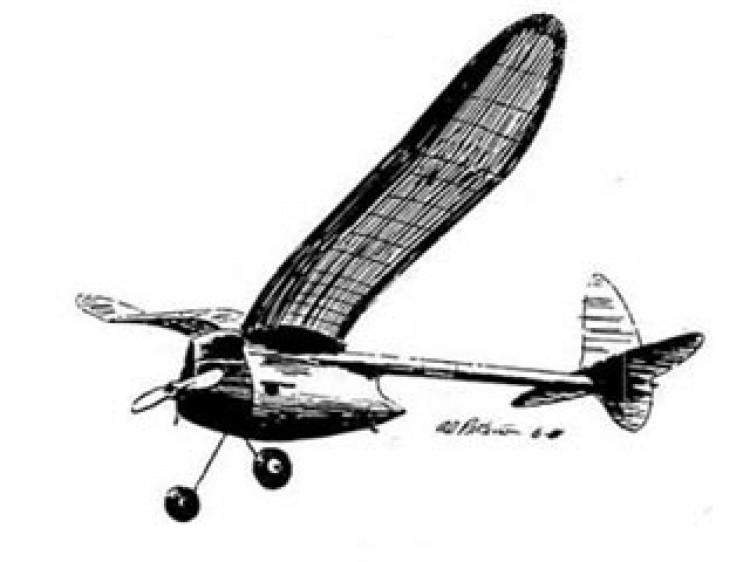 Boomer Bus model airplane plan