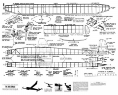 Bostonian model airplane plan