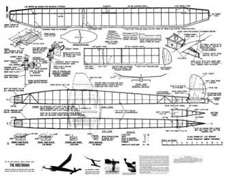 Bostonian model airplane plan