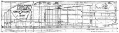 Bouzine model airplane plan