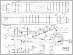 Bowlus-Nelson Bumblebee model airplane plan