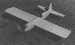 Box Boy model airplane plan