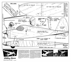 Boxcar2 model airplane plan