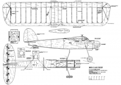 BoxcarChief model airplane plan