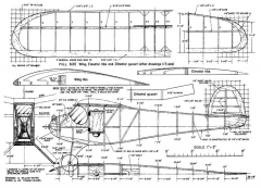 Breather model airplane plan