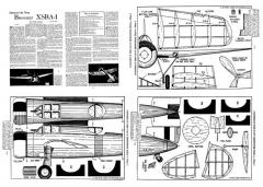 BrewsterXSBA1 model airplane plan