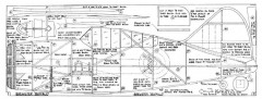 Brewster Buffalo model airplane plan