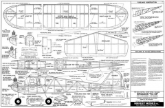 Brigadier RC-38 model airplane plan