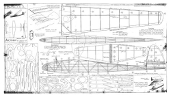 Briscola model airplane plan