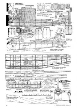 Bristol 170 model airplane plan